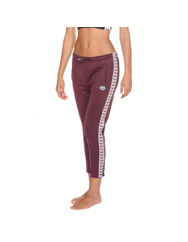 Arena W 7/8 Team Pant Red Wine Cool Grey