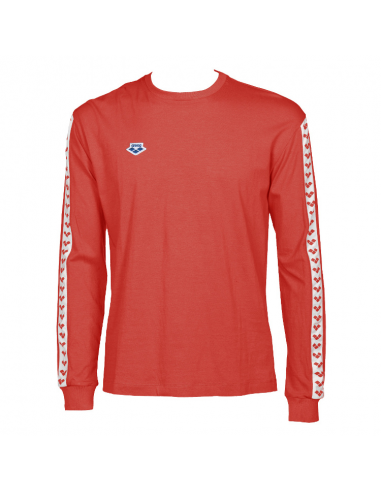 Arena M Longsleeve Shirt Team Red White Red