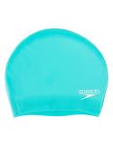 Speedo Long Hair Cap Silicone Blue