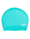 Speedo Long Hair Cap Silicone Blue