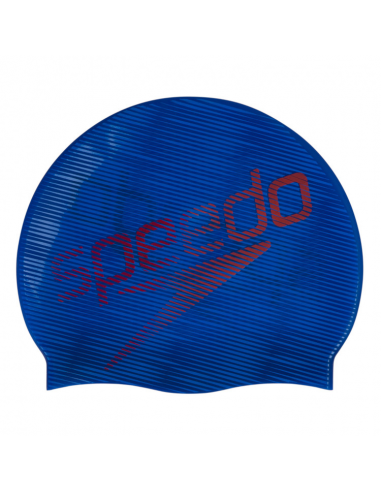 Speedo Slogan Print Cap Blue Red