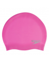 Speedo Plain Moulded Silicone Cap Pink