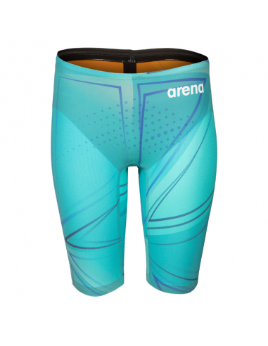 Arena R-evo One Jammer Blue Glass