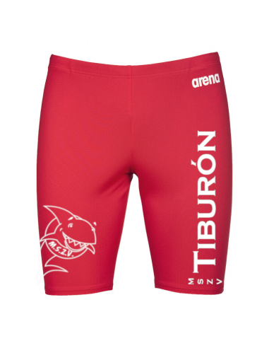 Arena M Solid Jammer Red White Tiburón