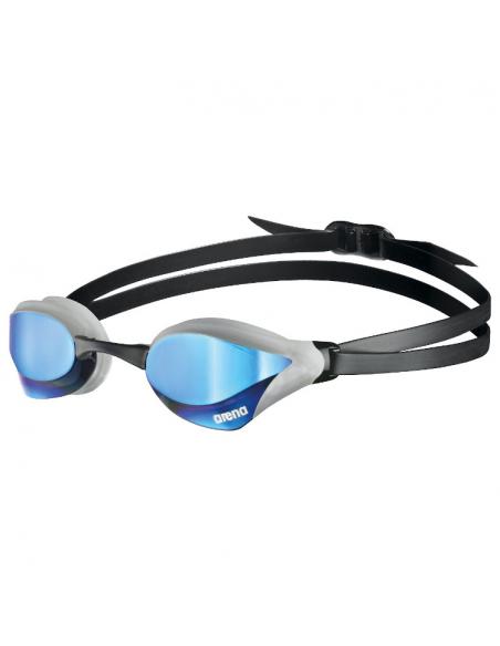 Arena Cobra Core Swipe Mirror Blue Silver