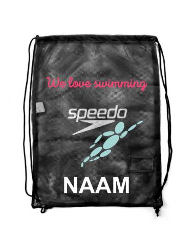 Robsport X Speedo Equipment Mesh Bag Black