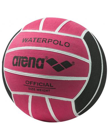 Arena Water Polo Ball Size 4 Fuchsia Black