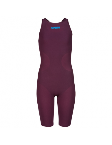 Arena R-evo One Jr Kneeskin Red Wine Turquoise