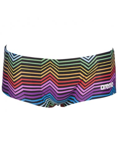 Arena Low Waist Stripes Black Multi