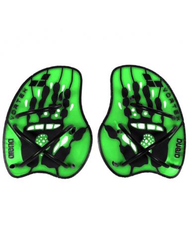Arena Vortex Evolution Hand Paddle Acid Lime Black