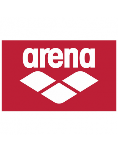 Arena Pool Soft Towel Red White