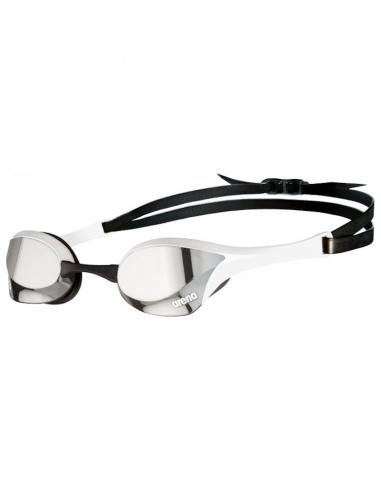 Arena Cobra Ultra Swipe Mirror Silver White