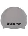 Arena Classic Silicone Cap Silver Black