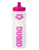Arena Water Bottle Clear Pink 75cl