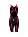 Arena Carbon Flex VX Openback Dark Grey Fluo Red