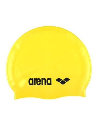 Arena Classic Silicone Cap Yellow Black