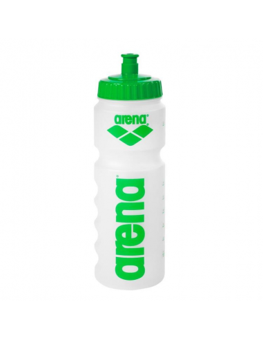 Arena Water Bottle Clear Green 75cl