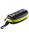 Arena Goggle Case Black Silver Fluo Yellow