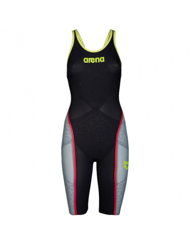 Arena Carbon Ultra Openback Dark Grey Fluo Yellow