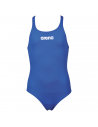 Arena Solid Swim Pro Jr Royal White