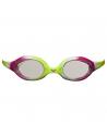Arena Spider Junior Goggle Lime Fuchsia White Clear