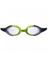 Arena Spider Junior Goggle Navy Clear Citronella