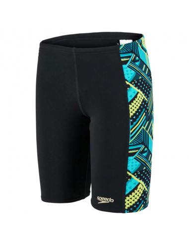 Speedo Wavawave Jammer Black Blue