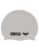 Arena Classic Silicone Cap White Black