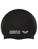 Arena Classic Silicone Cap Black Silver