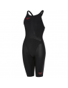 Speedo LZR Element Openback Kneeskin Black Bronze