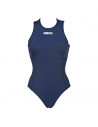 Arena Solid Waterpolo One Piece Navy White