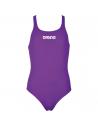 Arena Solid Swim Pro Jr Mirtilla White