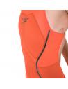 Speedo LZR X Kneeskin Openback Orange Black