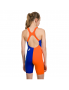 Speedo G Openback Kneeskin Purple Orange