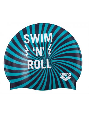 Arena Print Junior Swimroll Navy