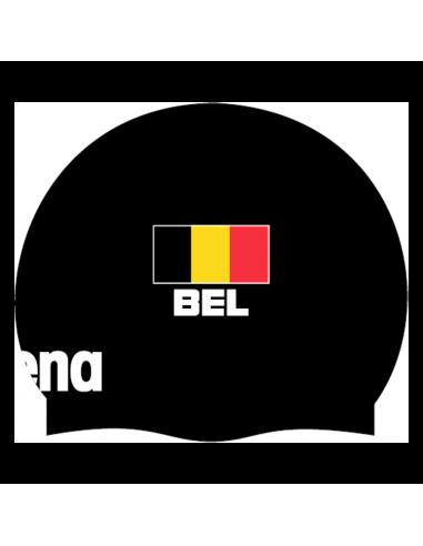Arena Moulded Cap Bel Flag Black