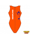 Arena Solid Waterpolo One Piece Replica Dutch Fed