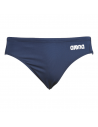 Arena Solid Waterpolo Brief Navy White
