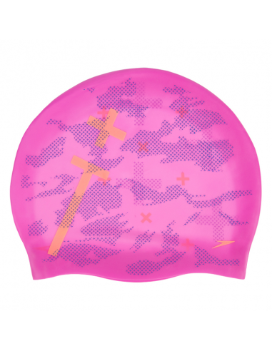Speedo Tango Reversible Cap Pink Orange