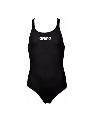 Arena Solid Swim Pro Jr Black White