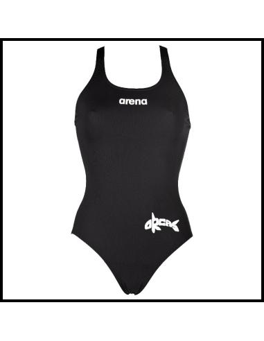 Arena ZV Orca W Solid Swim Pro Black White