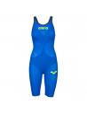 Arena Carbon Air 2 Openback Kneeskin Blue Yellow