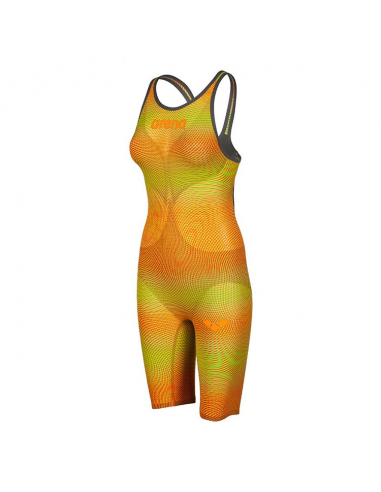 Arena Carbon Air 2 Openback Kneeskin Lime Orange