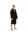 Arena Core Soft Robe Black White