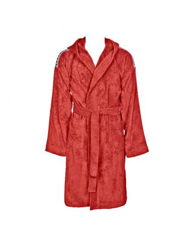 Arena Core Soft Junior Robe Red White