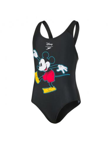 Speedo Mickey Junior One Piece Black