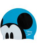 Speedo Junior Mickey Cap Blue