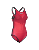 Arena Powerskin Carbon-DUO Top Jaster Red