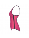 Arena Powerskin Carbon-DUO Top Pink Peacock