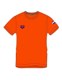 Arena M Nederland signature SS Tee Orange